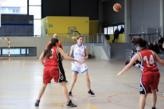 El sénior femenino de Paúles pierde 47-57 ante el Begoñazpi