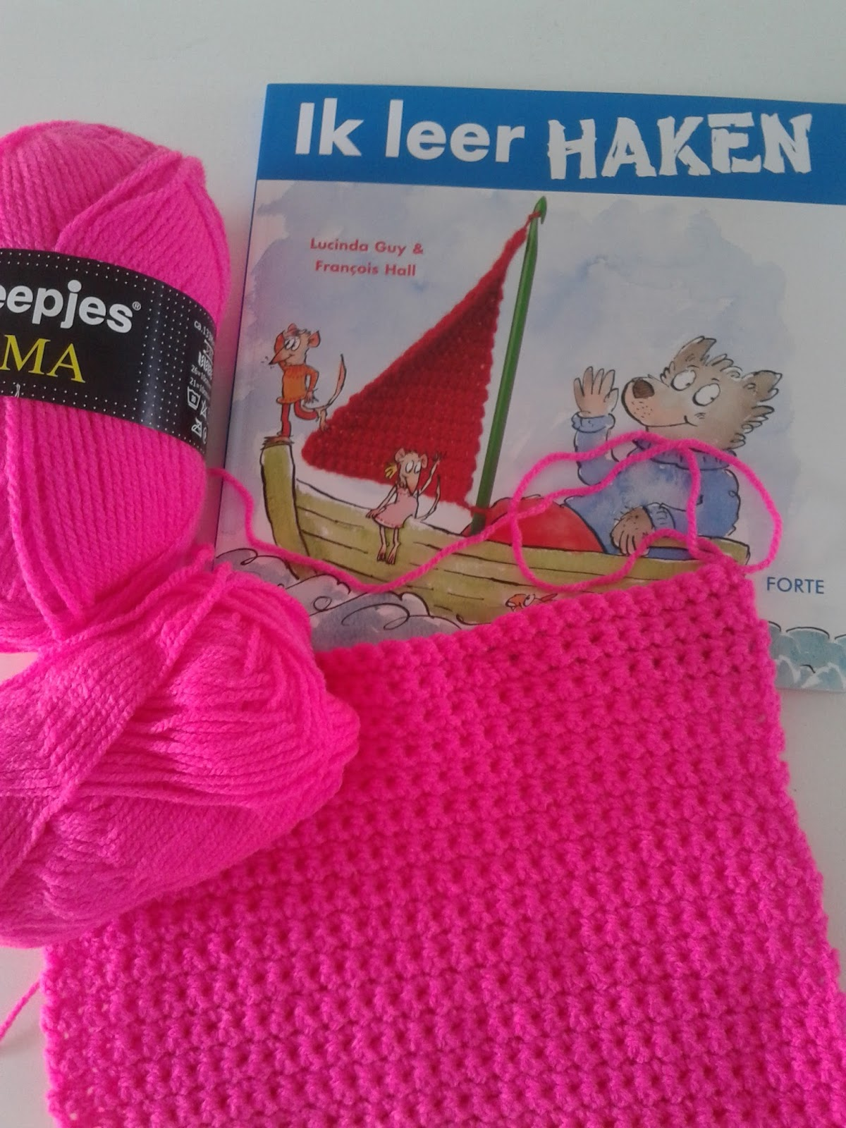 Hip En Kleurig Uitslag Give Away Boek Ik Leer Haken