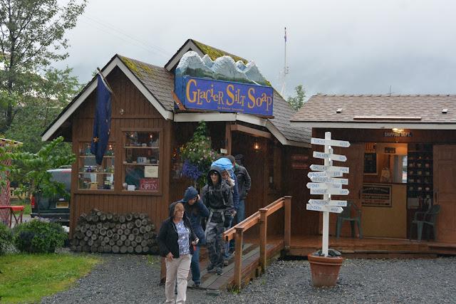 Juneau Glacier shop