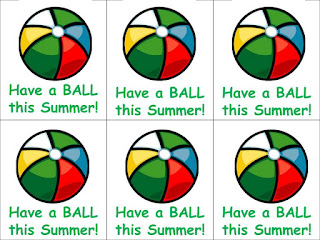 photo regarding Have a Ball This Summer Printable named The Speech Gals