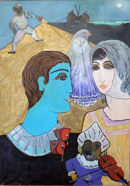 Sally Weintraub arte naíf surrealismo circo amor