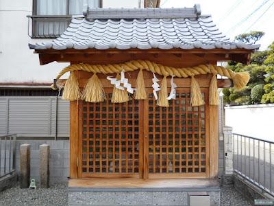 愛宕神社祠