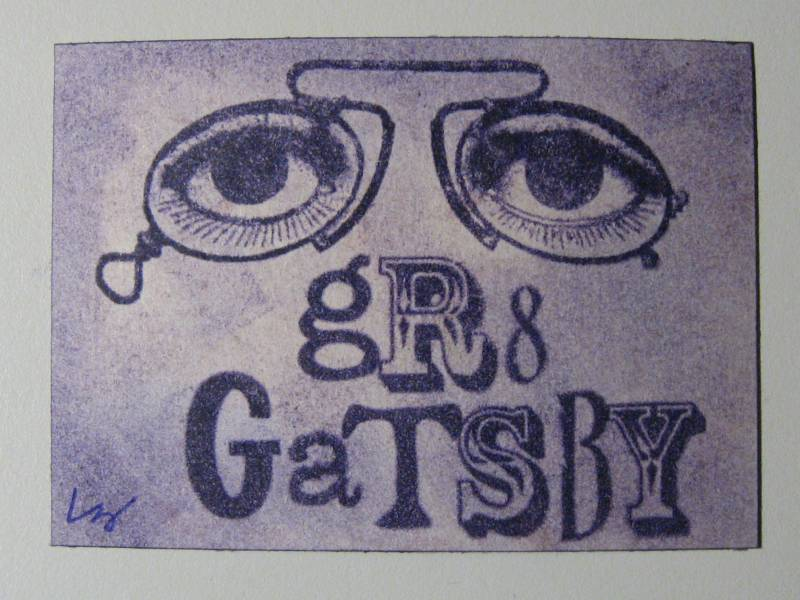 great gatsby optometrist sign