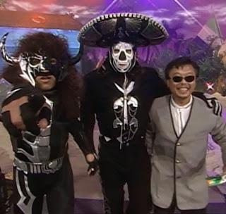 WCW Bash at the Beach 1997 - Psicosis, La Parka, Sonny Onoo