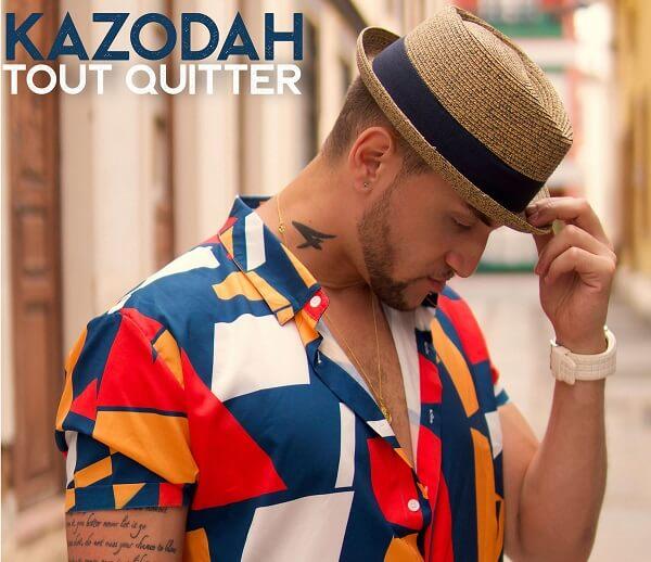 """Kazodah revient avec son nouveau single """"Tout Quitter""""."""