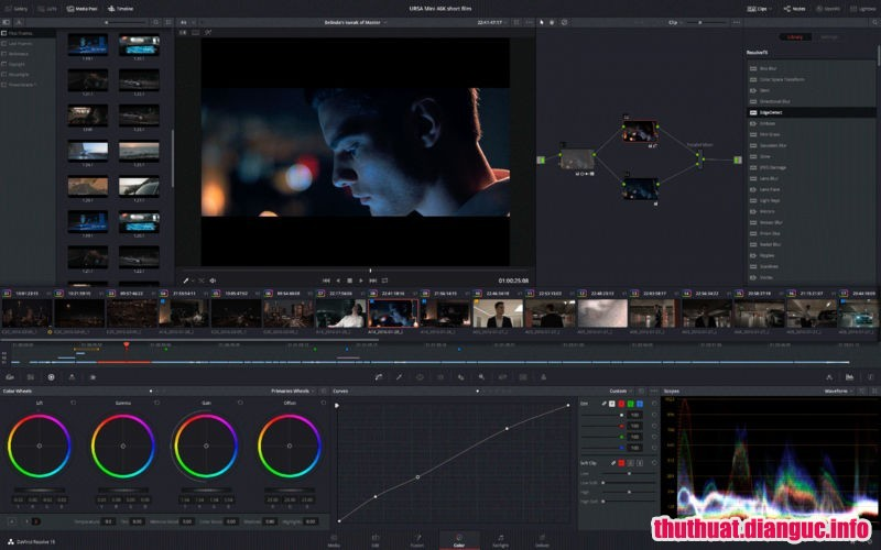 Download Davinci Resolve Studio 15.3.1.3 Full Crack, công cụ chỉnh sửa video mạnh mẽ, công cụ chỉnh sửa màu sắc video, Davinci Resolve Studio, Davinci Resolve Studio free download, Davinci Resolve Studio full key,