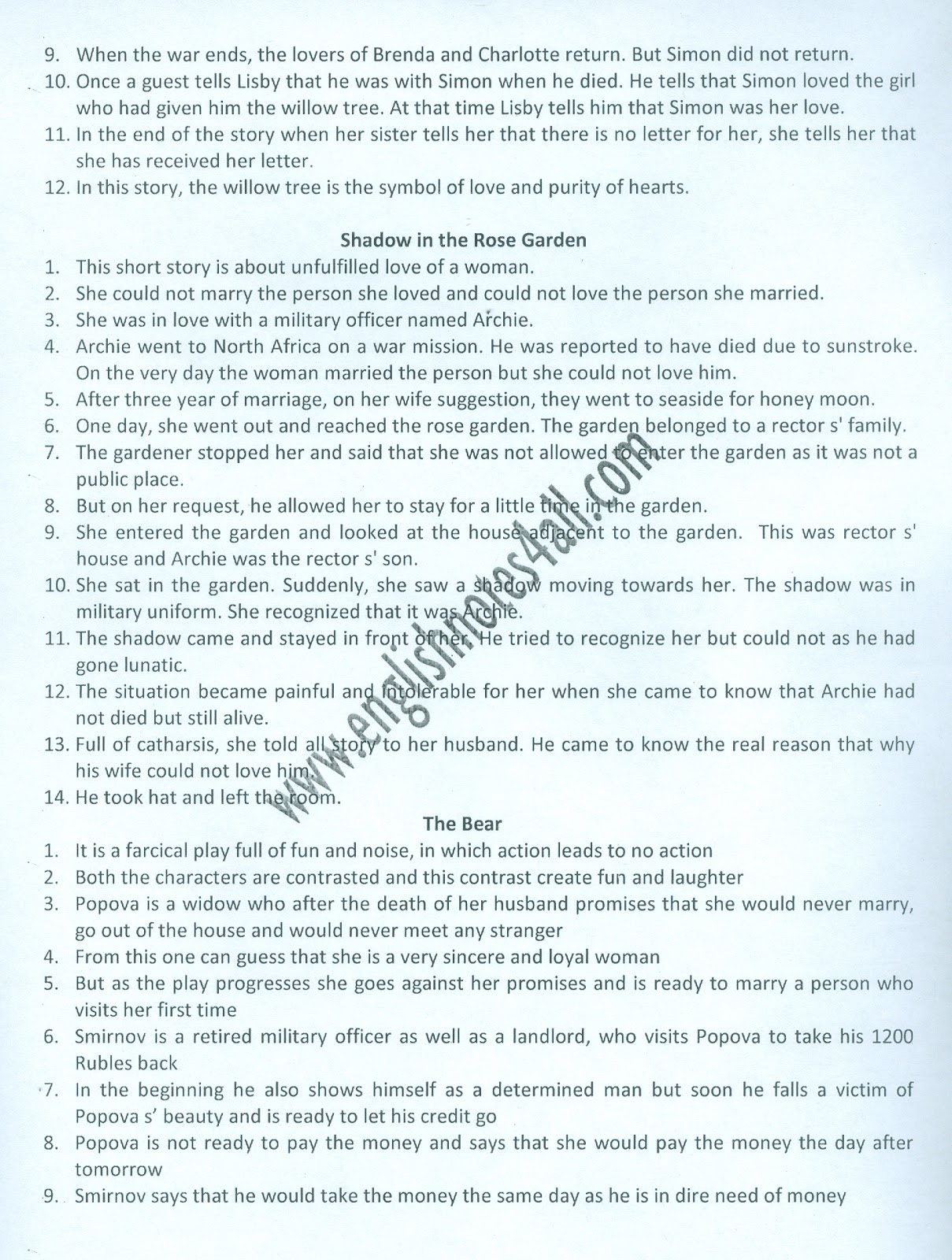 How To Write A Good English Essay Ba English Notesmodern Essaysthe Old Man And The Seashort Stories And One  Act Plays Sample English Essays also How To Write A Research Essay Thesis Ba English Notespuuosiub English Essay On Terrorism
