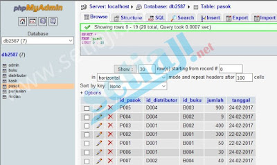 tutorial web membuat aplikasi toko form pasok