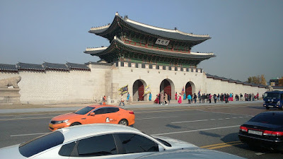 Tourist Places To Go In Korea Seoul - Gwanghwamu