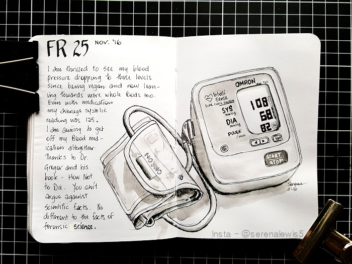sketch of my blood pressure reader