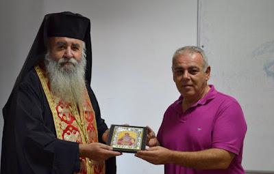 Στη Θεσπρωτία ο προϊστάμενος της Θρησκευτικής Υπηρεσίας της Ελληνικής Αστυνομίας