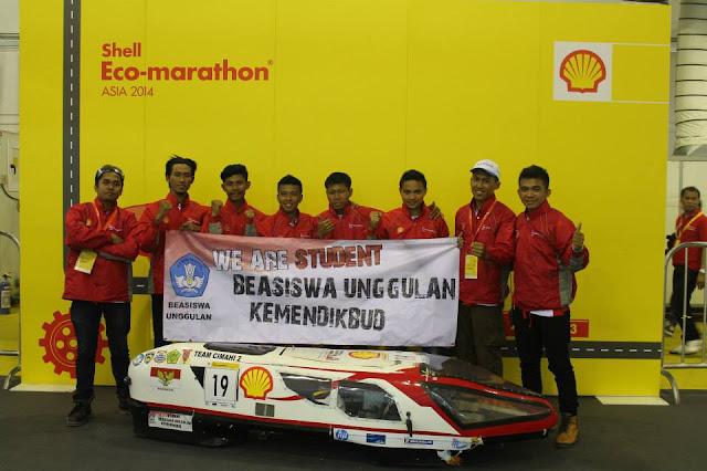 Pengalaman Perlombaan Sheel Eco Marathon Tingkat Asia