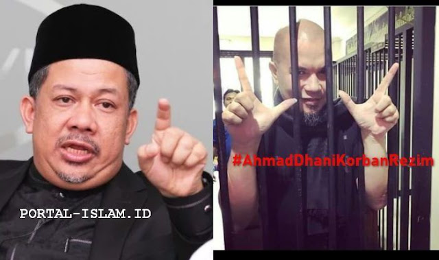 Fahri Hamzah: Ahmad Dhani Akan Jadi Martir Yang Menumbangkan Rezim
