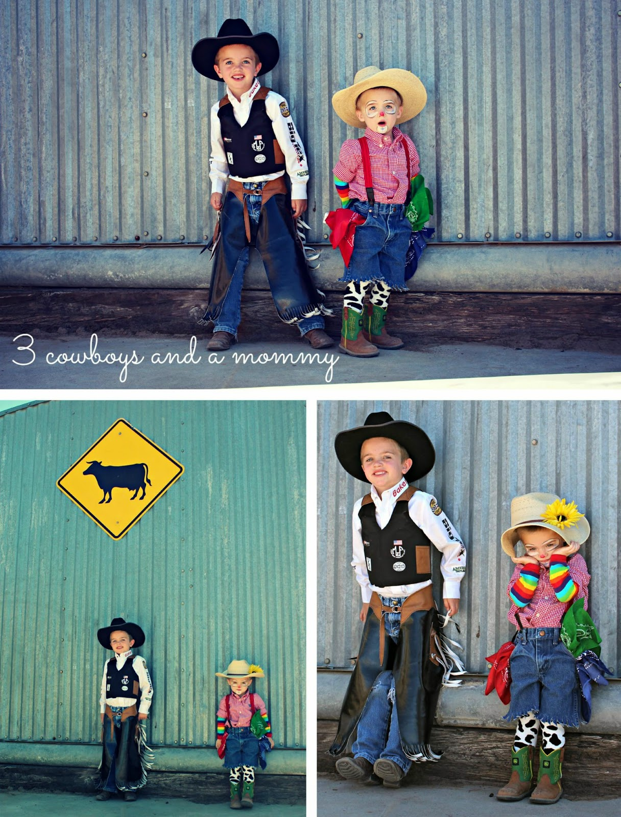 3 Cowboys And A Mommy Happy Halloween