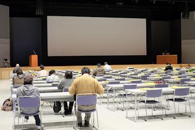 長野県食品衛生協会の食品衛生責任者養成講習会 中ホール