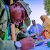 Buhari, wife Aisha Buhari vote in Daura (photos)