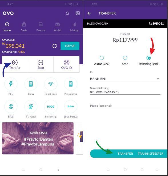 Bayar di aplikasi OVO