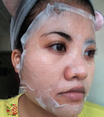 sheet mask althea