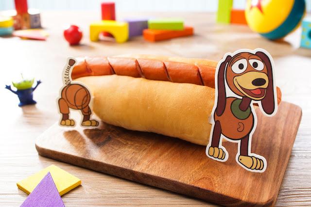 反斗奇兵大本營彈弓狗熱狗-Toy Story Land-Slinky Dog Hot Dog