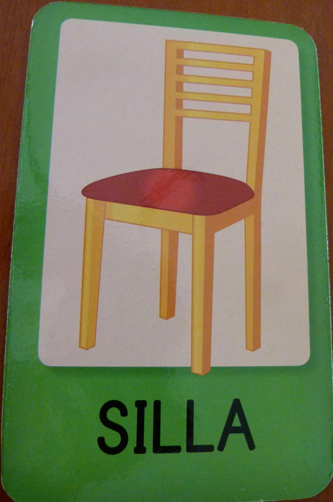 Las palabras y el silencio flashcards grafomotricidd y for Sillas para trabajar