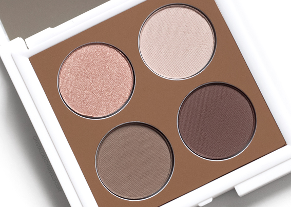 Teeez Cosmetics To Die For Eyeshadow Quad Cinnamon Revolution Review