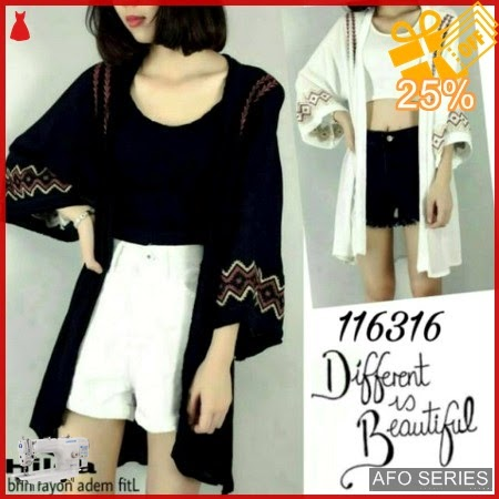 AFO016 Model Fashion Hilda Basic Cardy Modis Murah BMGShop