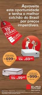 Euro Colchões promove 19º Feirão em todas as lojas da rede