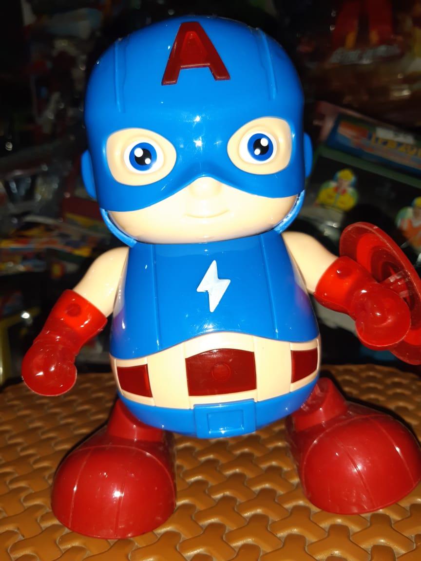 Mainan Robot Dance Captain America