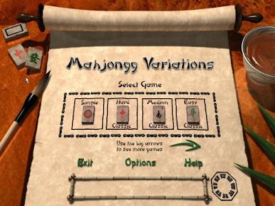 麻將變奏曲(Mahjongg Variations)免安裝,包含12種麻將紙牌玩法的益智遊戲!
