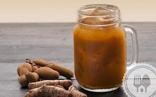 Kunyit Asam, Turmeric Juice With Tamarind