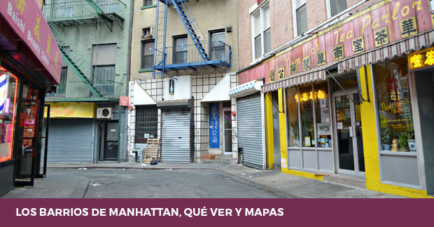 Barrios de Manhattan