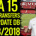 FIFA 15 New Squads DB Latest Transfers 21/08/2018 By Minosta4u