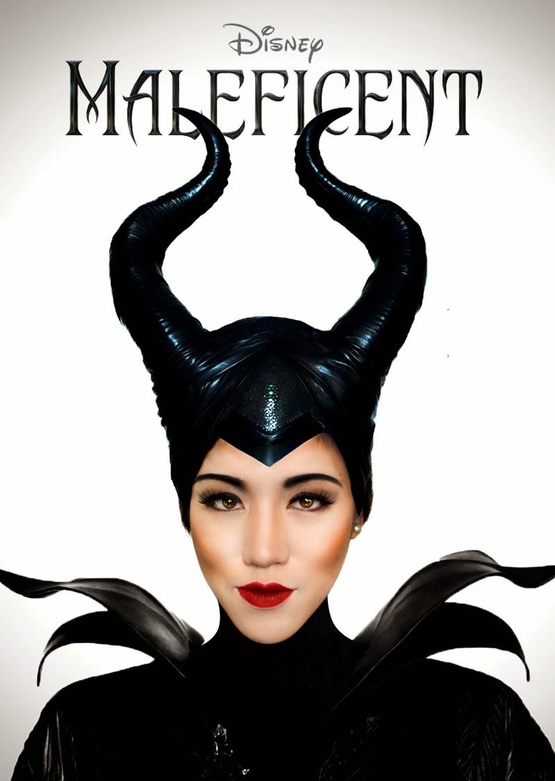 Disneys Maleficent Makeup Seasalthair