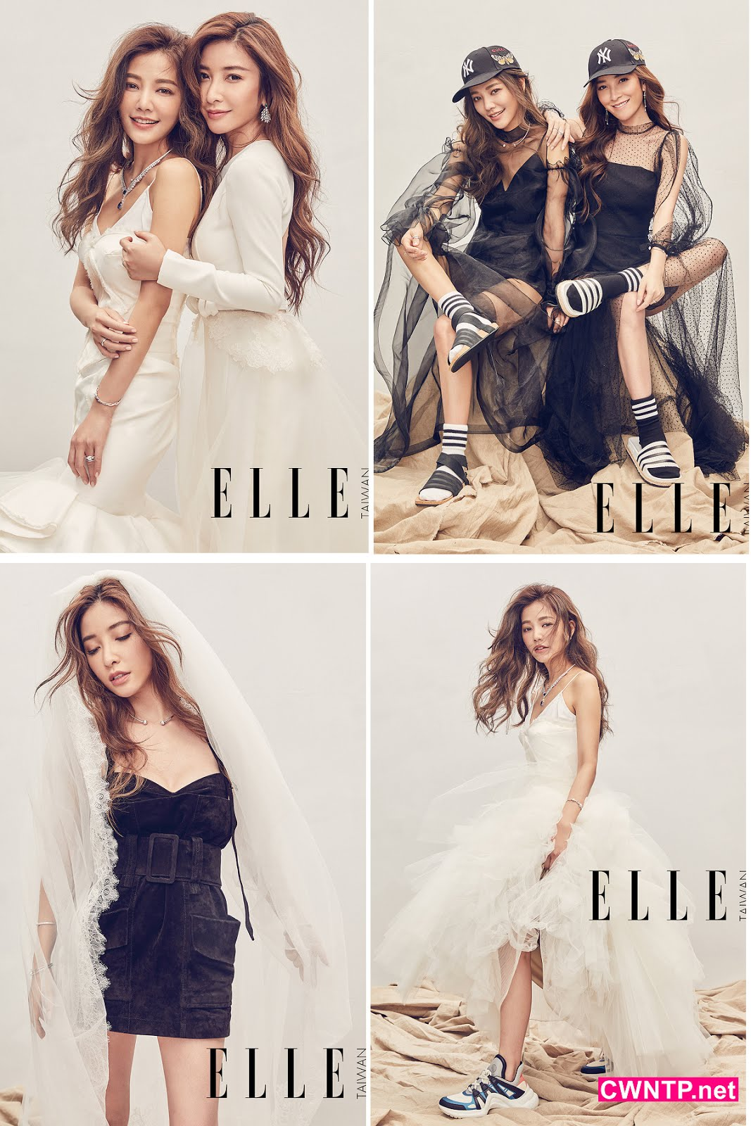 CWNTP 流行: ELLE WEDDING6月號封面之星 許路兒&許維恩時尚「衣」Q大考驗 - 華人世界時報 CWNTP