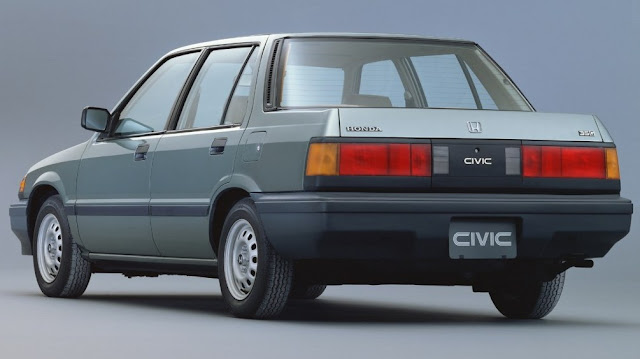 Honda Civic 3rd Gen Sedan Rear
