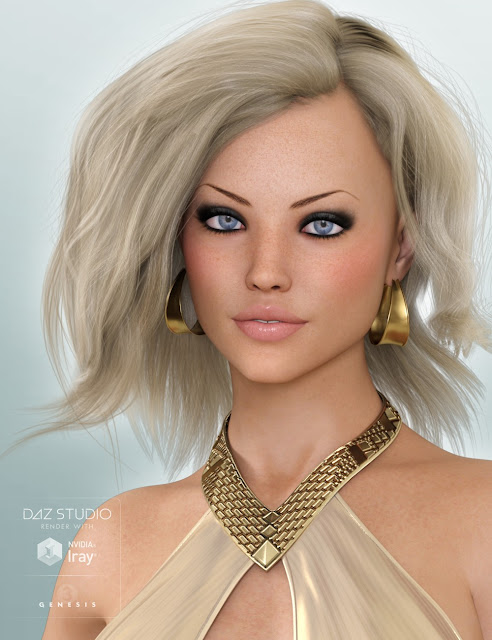 Lilja for Genesis 3 Female