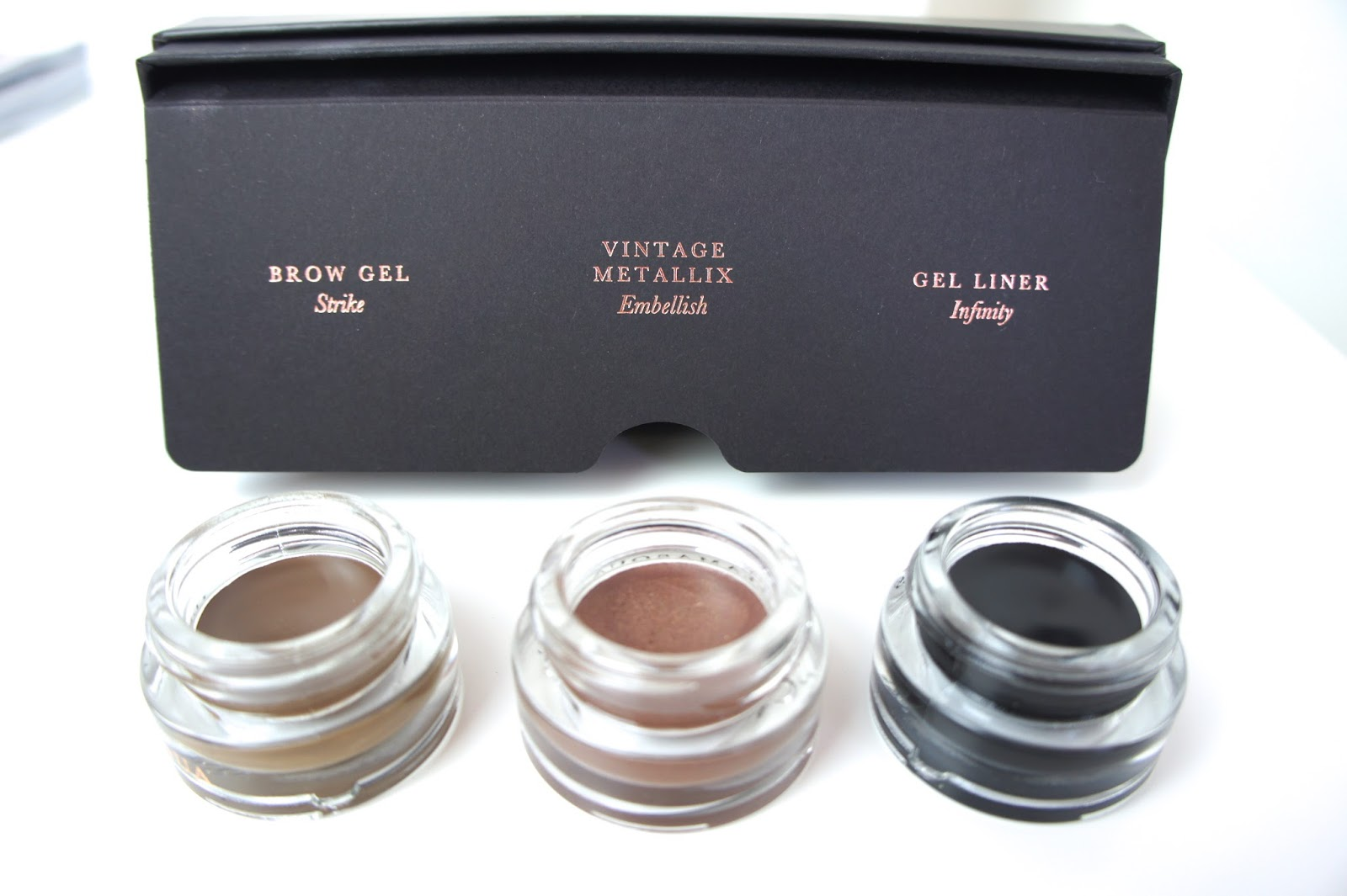 Illamasqua,eye,trio,brow,gel,strike,eyeliner,vintage,metallix,embellish