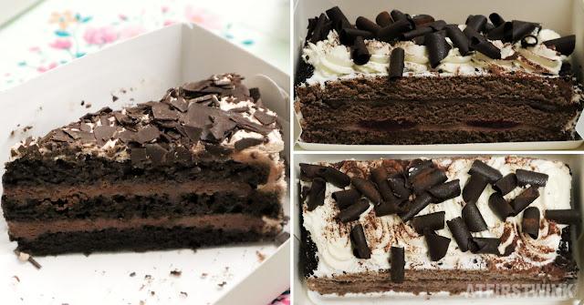 Dudok black velvet cake HEMA chocolate schnitt