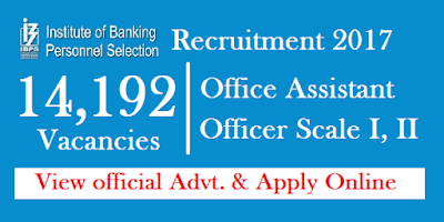 ibps rrb vi recruitment for 14192 office assistant