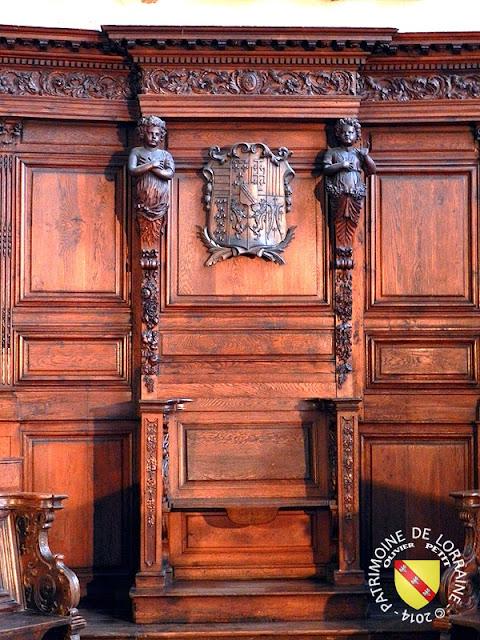 NANCY (54) - Musée lorrain : Stalles de Salival (1691)