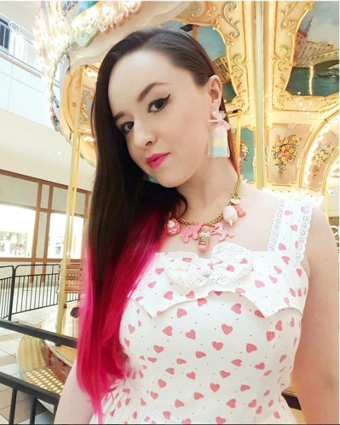 Pink Kawaii Candy Charm Jewelry