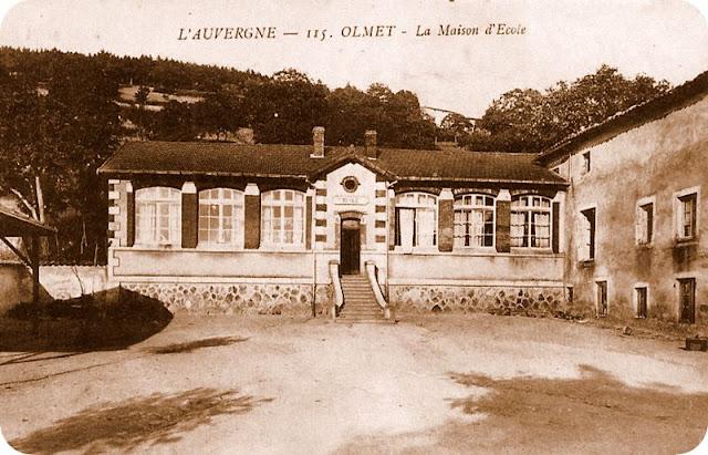 CPA :Auvergne, Olmet, Puy-de-Dôme.