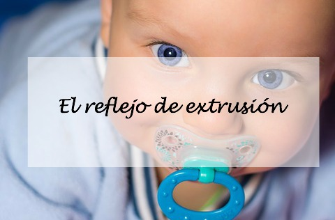 reflejo extrusion bebes
