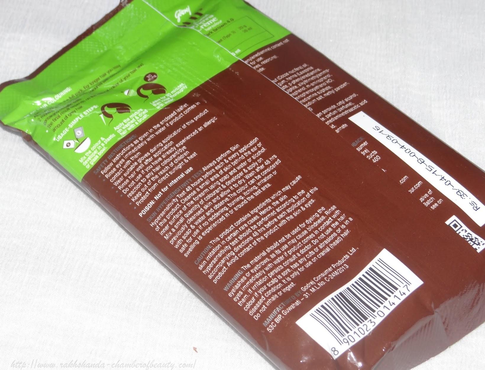 Nupur Henna: Godrej Nupur Coconut Henna Crème Hair Colour- Review