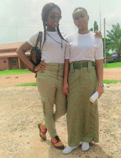 NYSC cooper student on skirt and modesty dressing