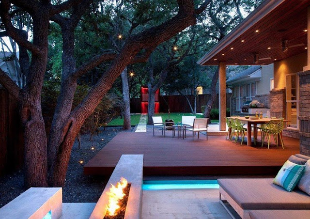 Brilliant Ideas For Your Backyard Landscape & Lighting Design