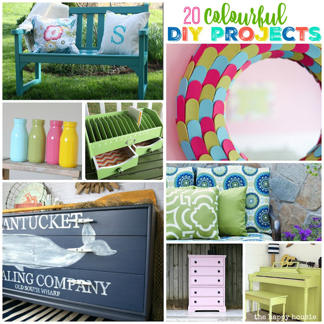 20 Colorful DIY Projects