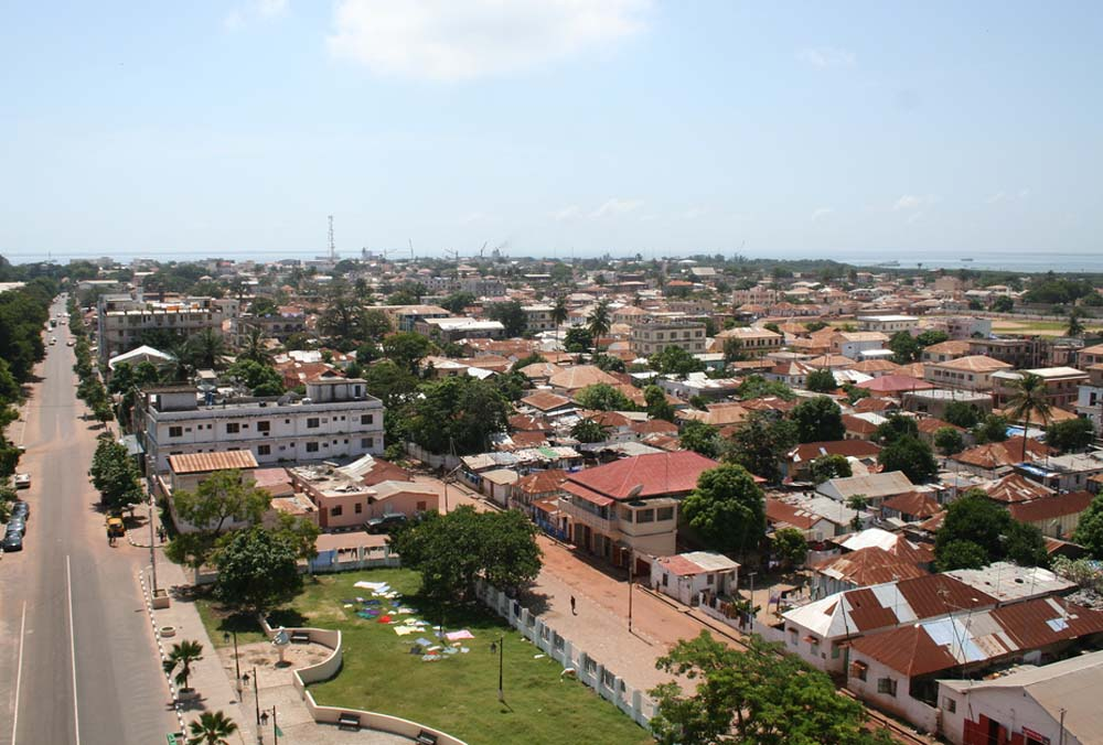 Banjul, The Capital of Gambia