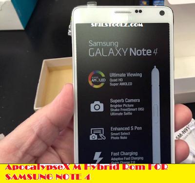 Samsung Galaxy Note 4 custom rom