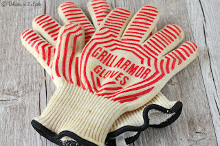 Grill Armor Gloves - No more burned hands and arms when baking!